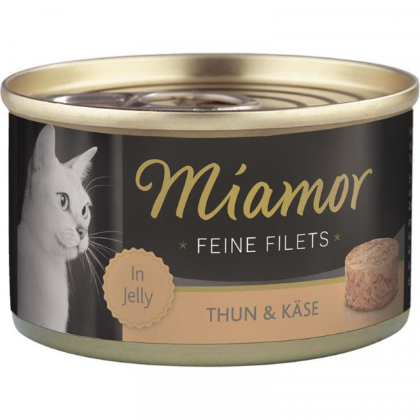 Miamor Dose Feine Filets Thunfisch & Käse 100g