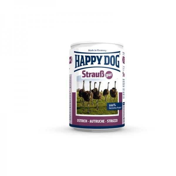 Happy Dog Dose Strauß Pur 400g
