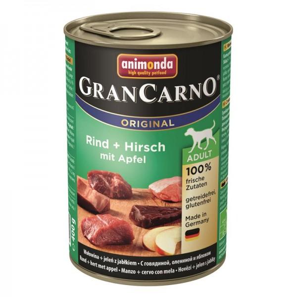 Animonda GranCarno Adult Rind&Hirsch mit Apfel 400g