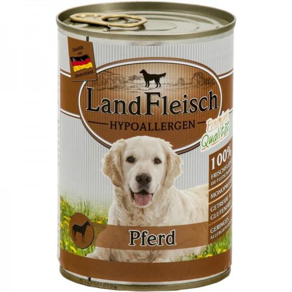 LandFleisch Dog Hypoallergen Pferd 400g