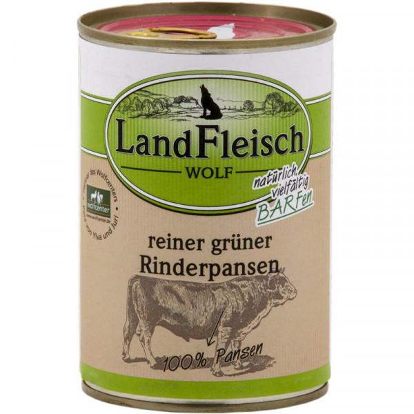 LandFleisch Wolf 100 % Fleisch aus Rinderpansen 400g