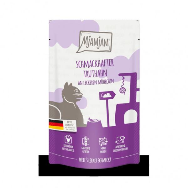 MjAMjAM - Quetschie - schmackhafter Truthahn an leckeren Möhrchen 125 g