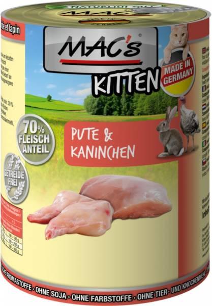 Macs Cat Kitten Pute+Kaninchen 400g