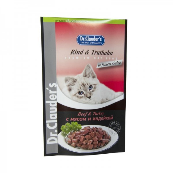 Dr. Clauders Cat Rind+Truthahn 100gP