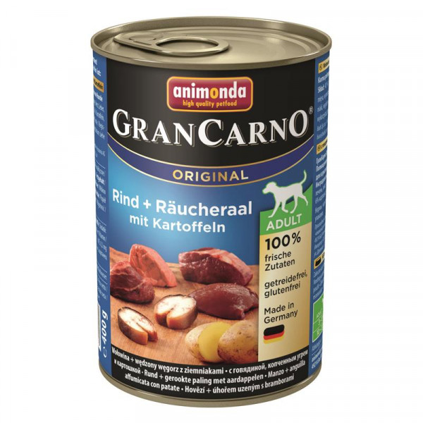 Animonda GranCarno Adult Räucheraal & Karotten 400g