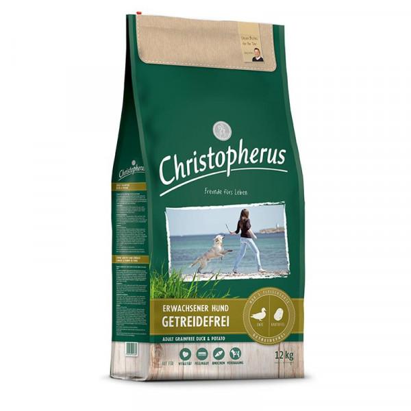 Christopherus Getreidefrei Ente & Kartoffel 2 x 12kg Spardoppelpack