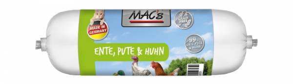 Macs Cat Wurst Ente+Pute+Huhn 100g