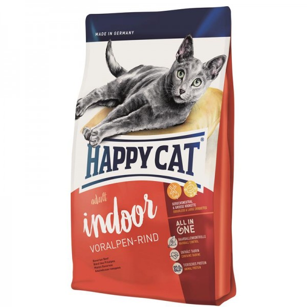 Happy Cat Supreme Indoor Voralpen-Rind 1,4 kg