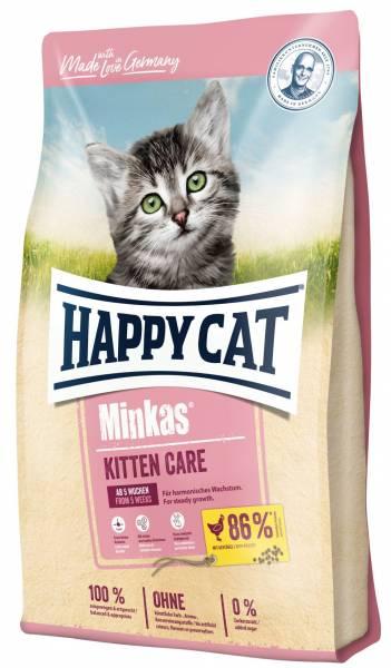 Happy Cat Minkas Kitten Care Geflügel 10kg
