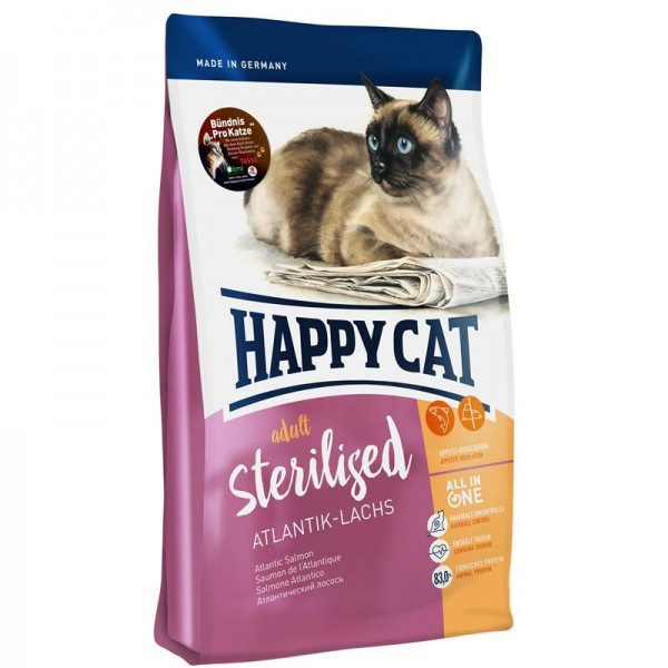 Happy Cat Supreme Sterilised Atlantik-Lachs 10kg