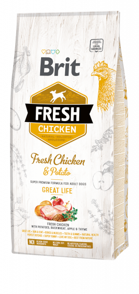 Brit Fresh Chicken GL 12kg