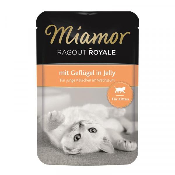 Miamor FB Ragout Royale Kitten mit Geflügel 100g
