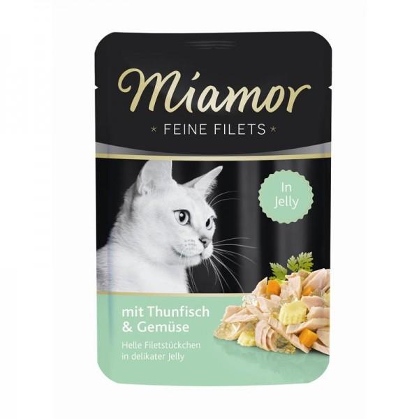 Miamor FB Feine Filets Thunfisch & Gemüse 100g
