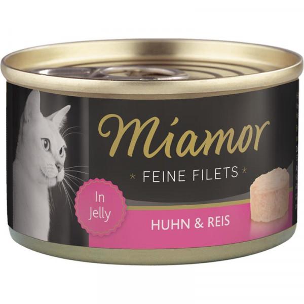 Miamor Dose Feine Filets Huhn & Reis 100g