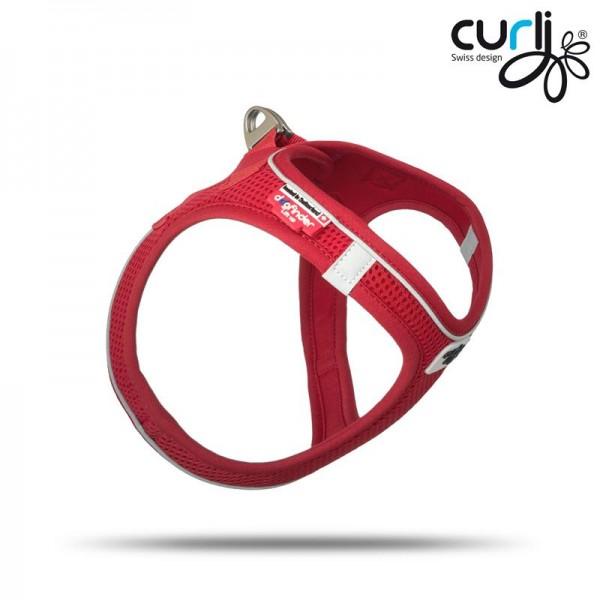 Curli Vest Geschirr Magnetic Rot 2XS