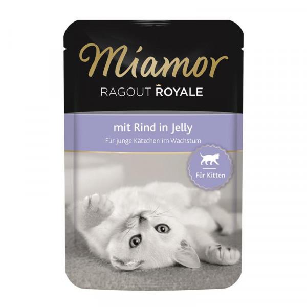 Miamor FB Ragout Royale Kitten mit Rind 100g
