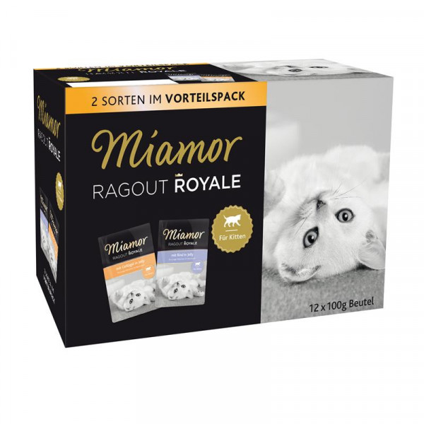 Miamor FB Ragout Royale Multibox Kitten in Jelly 12x100g