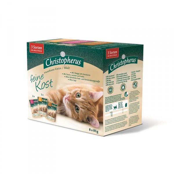 Christopherus Cat Portionsbeutel Multipack 8 x 85 g