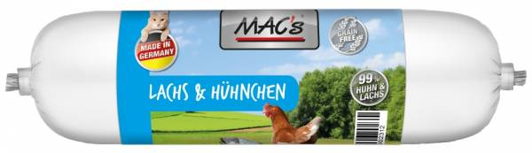 Macs Cat Wurst Lach+Huhn 300g