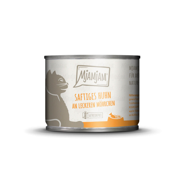 MjAMjAM - saftiges Huhn an leckeren Möhrchen 200 g