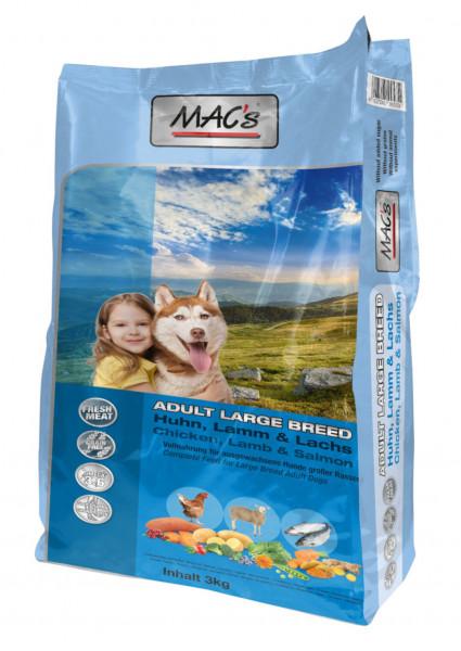 MACs Dog Adult Large Breed 3 kg