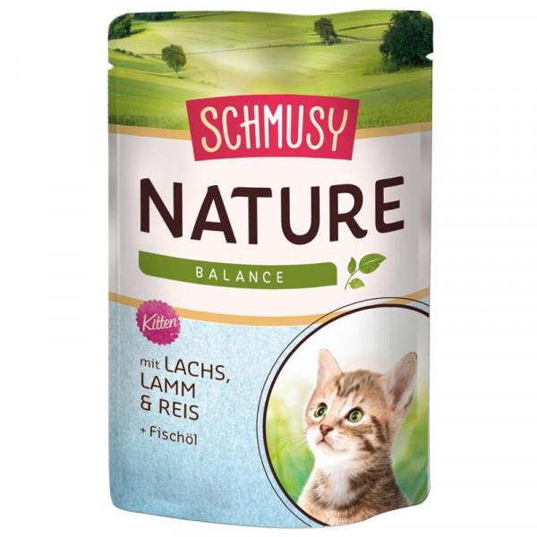 Schmusy Nature Balance FB Kitten Lachs 100g
