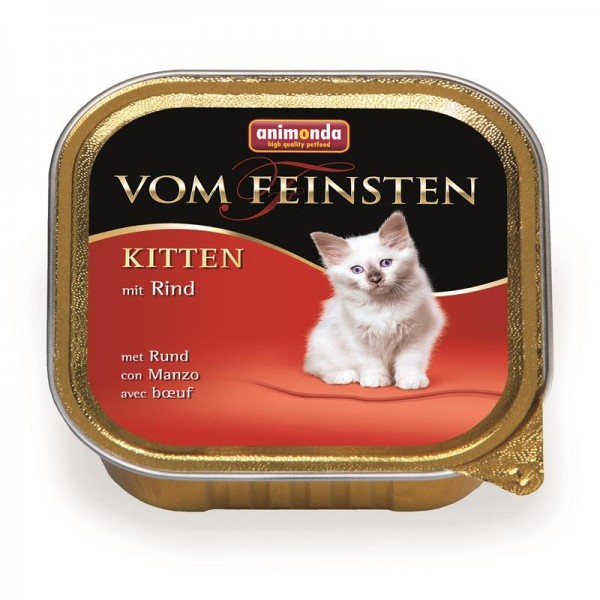 Animonda vom Feinsten Kitten Rind 100g