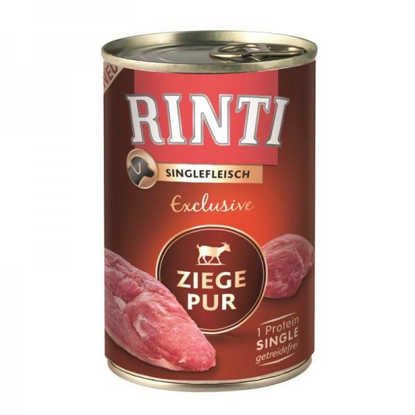 Rinti Dose Singlefleisch Exclusive Ziege Pur 400g