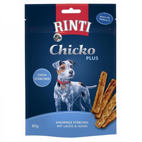 Rinti Extra Chicko Plus Fischstächen mit Lachs & Huhn 80g