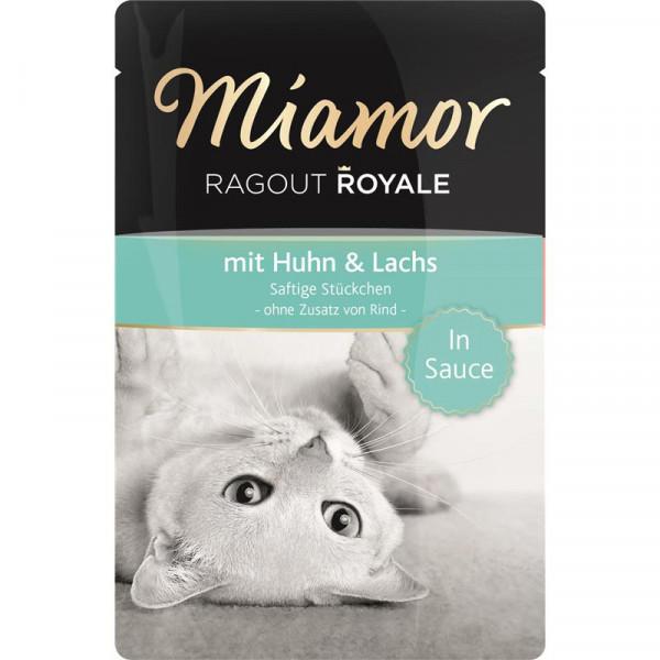 Miamor FB Ragout Royale Huhn & Lachs 100g