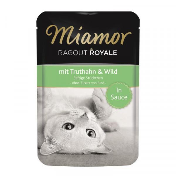 Miamor FB Ragout Royale in Soße Truthahn & Wild 100g