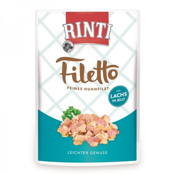 Rinti PB Filetto Jelly Huhn & Lachs 100g
