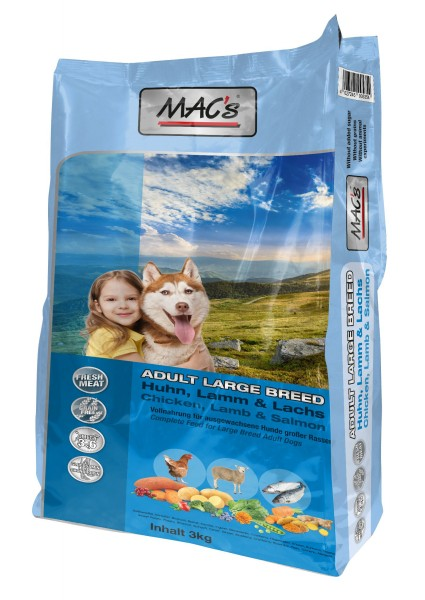 MACs Dog Adult Large Breed 3 kg