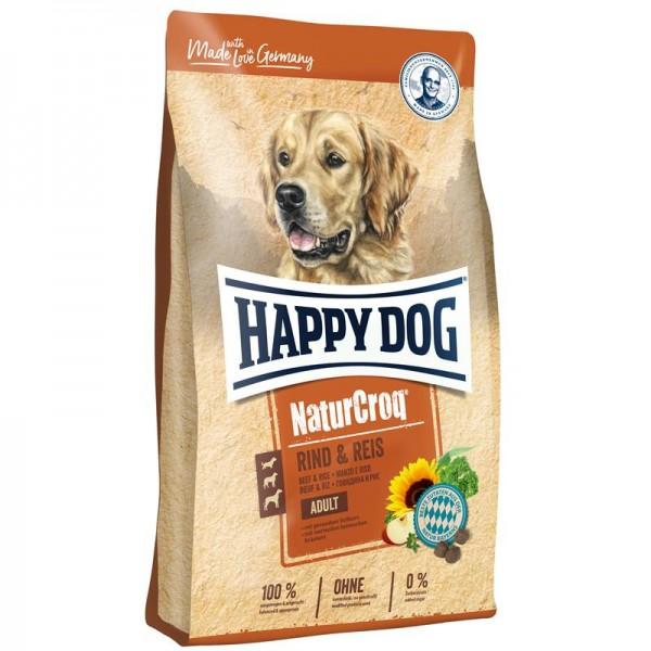 Happy Dog NaturCroq Rind & Reis 2x15 kg