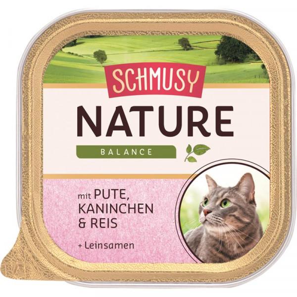 Schmusy Nature Balance FB Pute & Kaninchen 100g