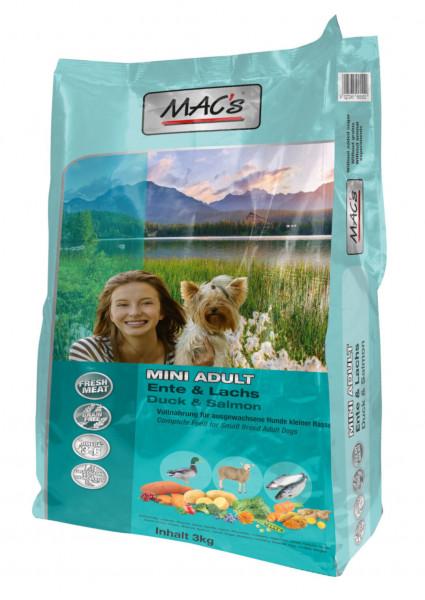 MACs Dog Adult Mini Ente & Lachs 3 kg