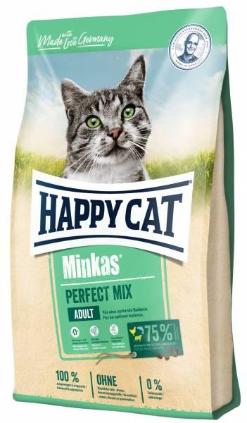 Happy Cat Minkas Perfect Mix Geflügel, Fisch & Lamm 10kg