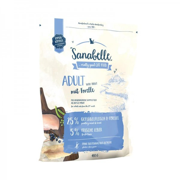 Sanabelle Adult Forelle 400 g