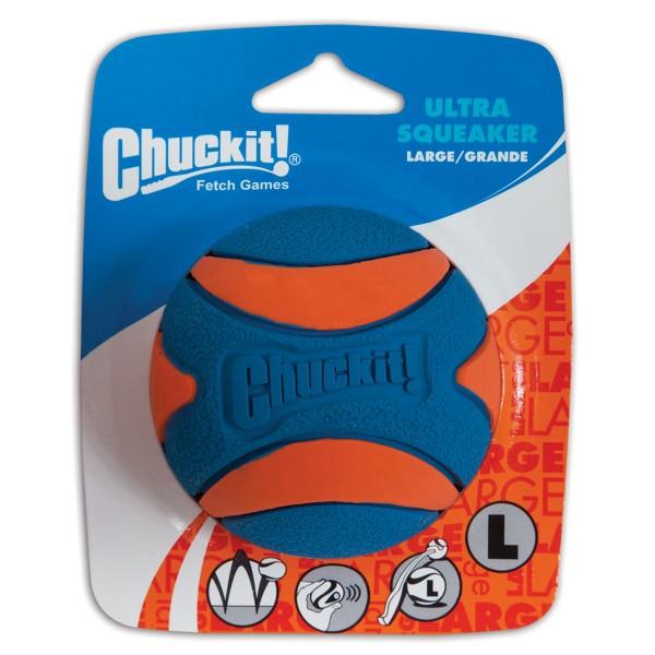 Chuckit ULTRA SQUEAKER BALL 1-PK Größe L