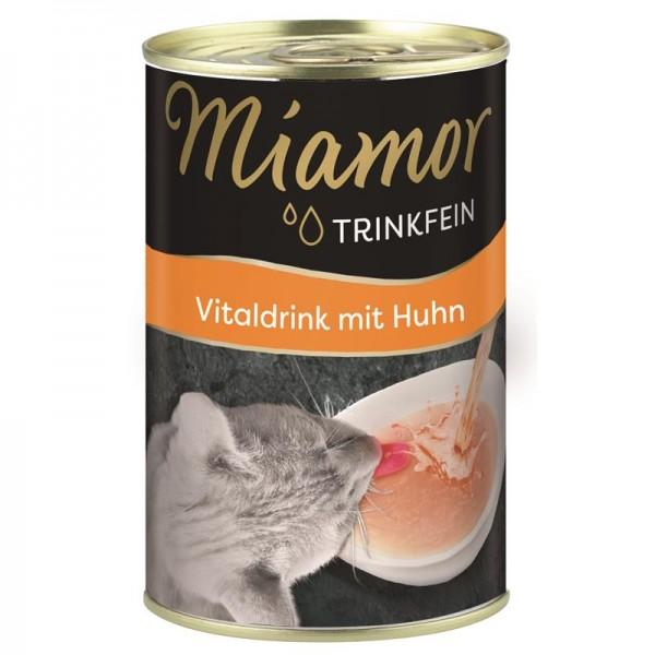 Miamor Trinkfein Vitaldrink mit Huhn 135ml