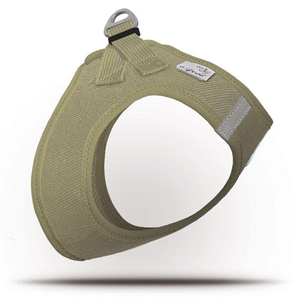 Curli Vest Geschirr Cord Tan 2XS