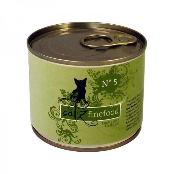 Catz finefood No. 5 Lachs 200g
