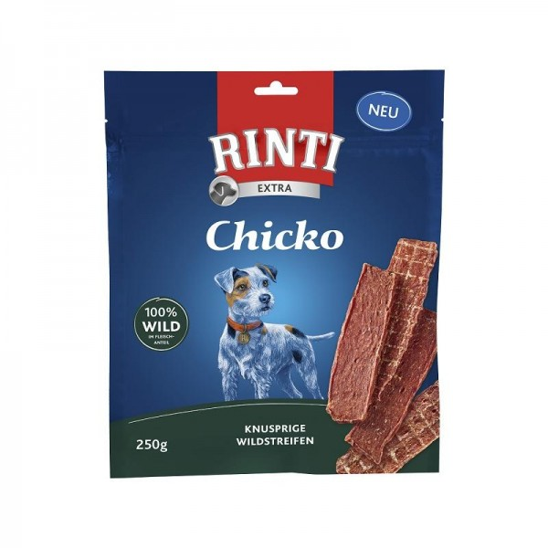 Rinti Extra Chicko Knusprige Wildstreifen 250g