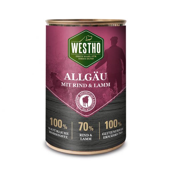 Westho Dog Dose Allgäu Rind & Lamm 400g