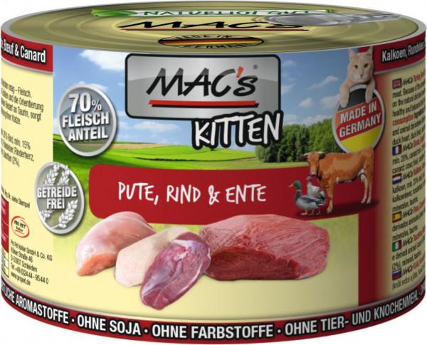 MACs Cat Kitten 200g