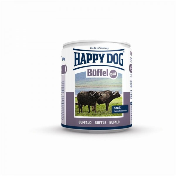 Happy Dog Dose Büffel Pur 200g