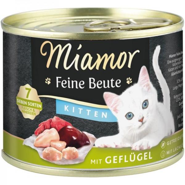 Miamor Dose Feine Beute Kitten Geflügel 185g