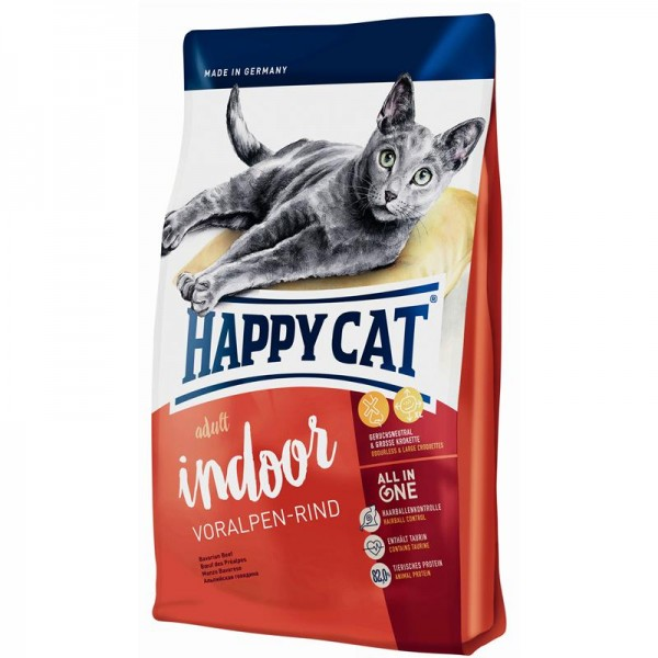 Happy Cat Supreme Indoor Voralpen-Rind 4 kg