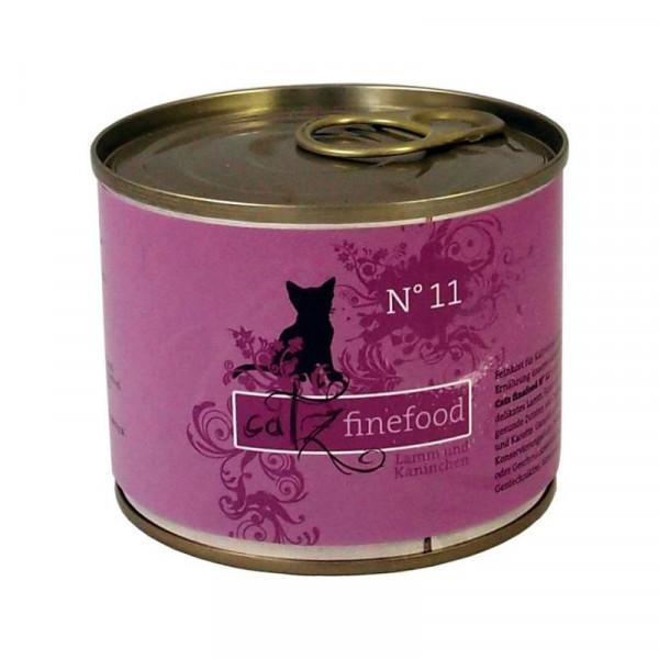 Catz finefood No. 11 Lamm & Kaninchen 200g