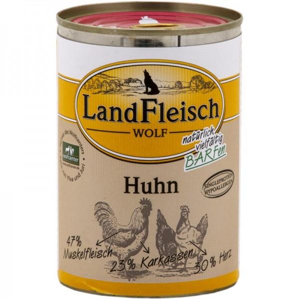 LandFleisch Wolf 100 % Fleisch vom Huhn 400g